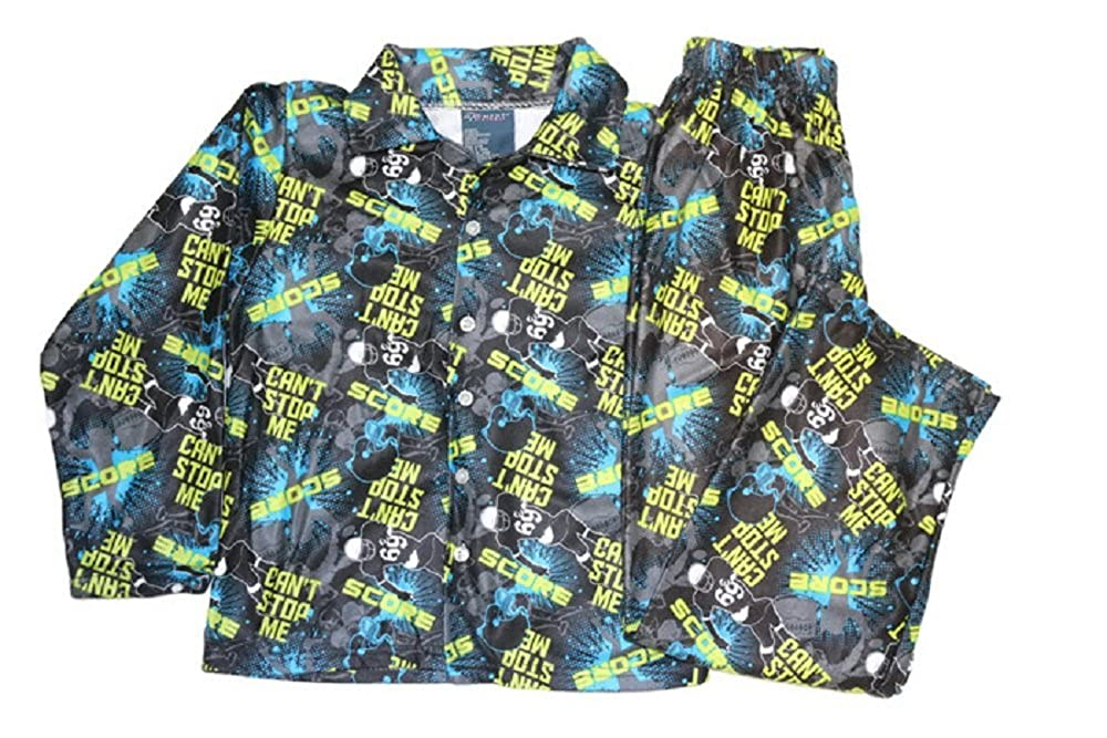Prints and Color May Vary Fgr Boys Sizes 8 to 18 Printed Flanel Flame Resistant Sleepwear Assorted Prints Very Soft BFLNPJ1836