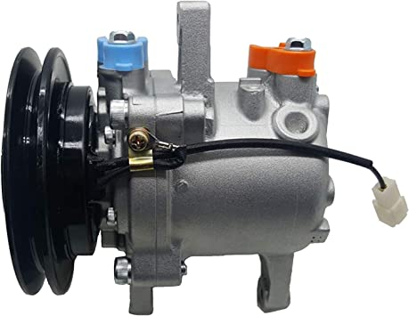 Amazon Com Zt Truck Parts Ac Compressor Sv07e 3c581 50060 3c581 97590 For Kubota M108s M5040 M6040 M7040 M8540 Automotive