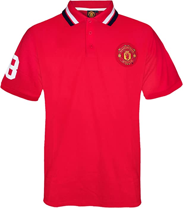 Manchester United FC - Polo - para niño Rouge - Rouge 7 años ...