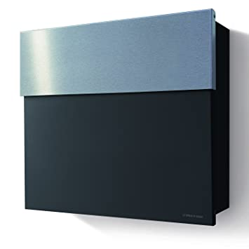 Radius Letterman radius design letterman 4 letter box with stainless steel flap