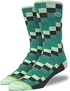 product image for Mitscoots Men's Pixel Crew Dress Socks …