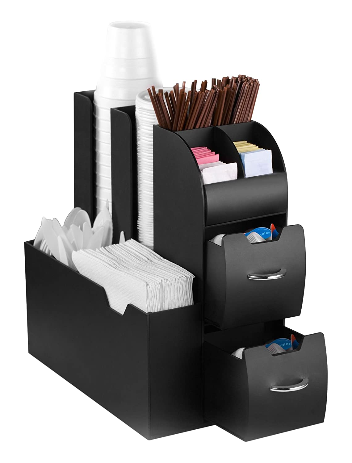 CEP Coffee Condiment and Accessory Caddy, Black 2230020011
