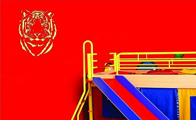 A5 Taille Pochoir - XSmall T/ête de tigre Mylar Airbrush Peinture murale Art Pochoir