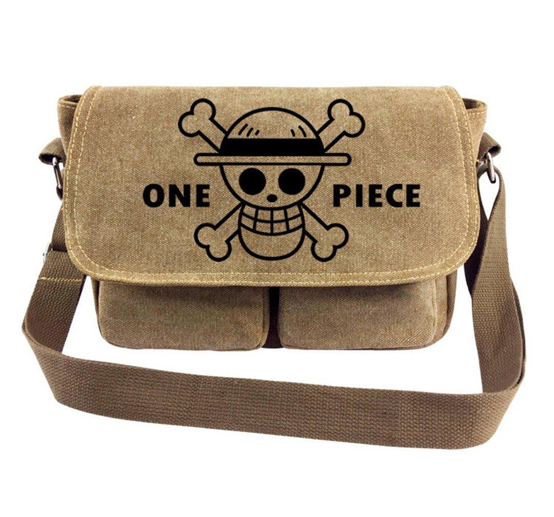 YOYOSHome Japanese Anime Cartoon Cosplay Tote Bag Handbag Cross-body Bag Messenger Bag Shoulder Bag (One Piece 2)