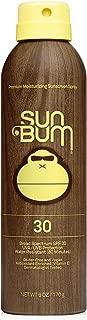 product image for Sun Bum Original Sunscreen Spray | Vegan and Reef Friendly (Octinoxate & Oxybenzone Free) Broad Spectrum Moisturizing UVA/UVB Sunscreen with Vitamin E | 6 oz