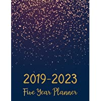 2019-2023 Five Year Planner: Monthly Schedule Organizer - Agenda Planner For The...