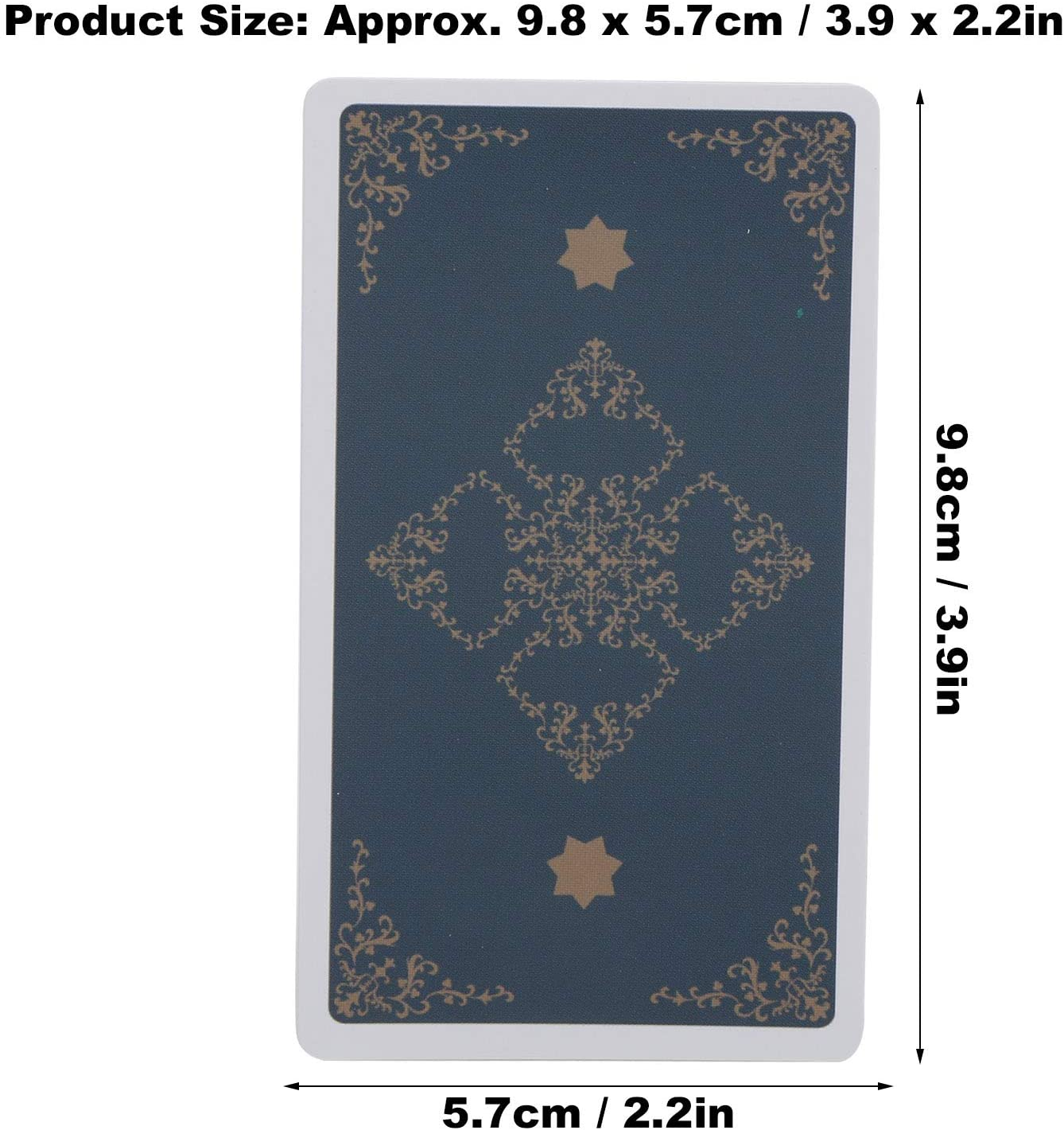 Holographic Witch Tarot Card Set Fate Divination Card Fortune Telling Card Adventure Book with Flash Effect for Beginners Family Friends Party English 79 Tarot Card Decks