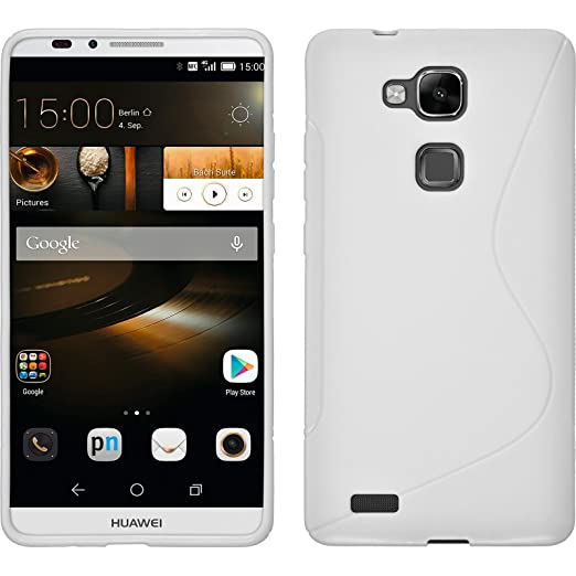 36 opinioni per PhoneNatic Custodia Huawei Ascend Mate 7 Cover bianco S-Style Ascend Mate 7 in