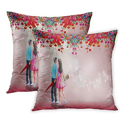 Amazon.com  Emvency Throw Pillow Cover Pack of 2 5fc0e60424