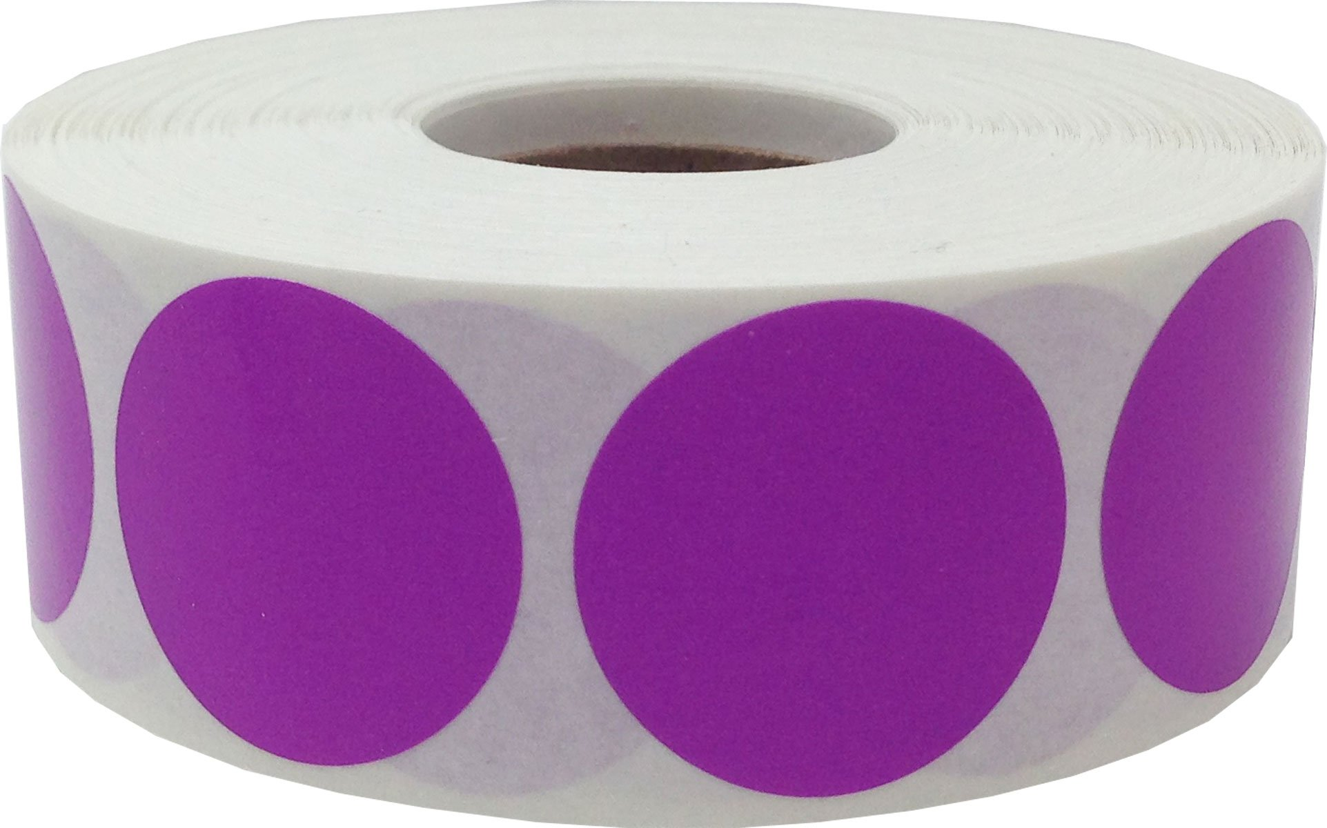 Color Coding Labels Lilac Round Circle Dots For Organizing Inventory 1 Inch 500 Total Adhesive Stickers