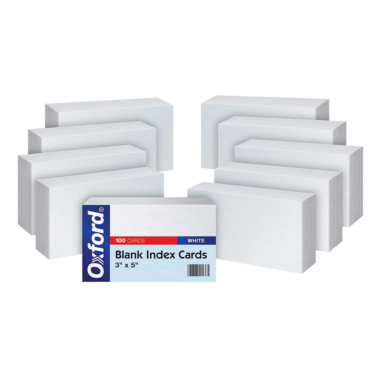 amazon com oxford blank index cards 3