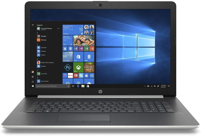 2020 Newest Premium Flagship HP Pavilion 17.3 Inch HD+ Laptop (Intel Quad-Core i7-8550U 1.16GHz up to 4GHz, 16GB RAM, 512GB SSD, WiFi, Bluetooth, HDMI, DVDRW, Windows 10) (Silver)