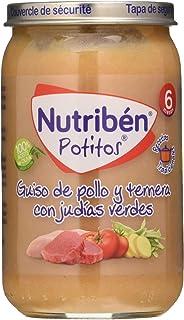 Nutribén Potitos Innova Delicias De Arroz Con Pollo Desde Los 6 ...