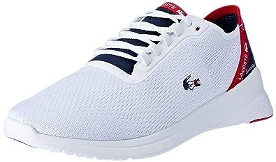 087dc06d07 Lacoste Sport - Chaussures Homme Sport - 37SMA0030, Blanc, 40.5 EU