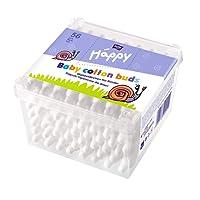 Bella Baby Happy Sicherheitswattestäbchen, 8er Pack (8 x 64 Stück)