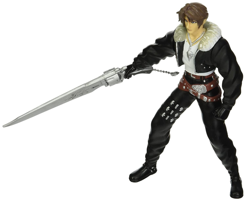 Bandai Final Fantasy Viii Squall Leonhart Extra Soldier Figure