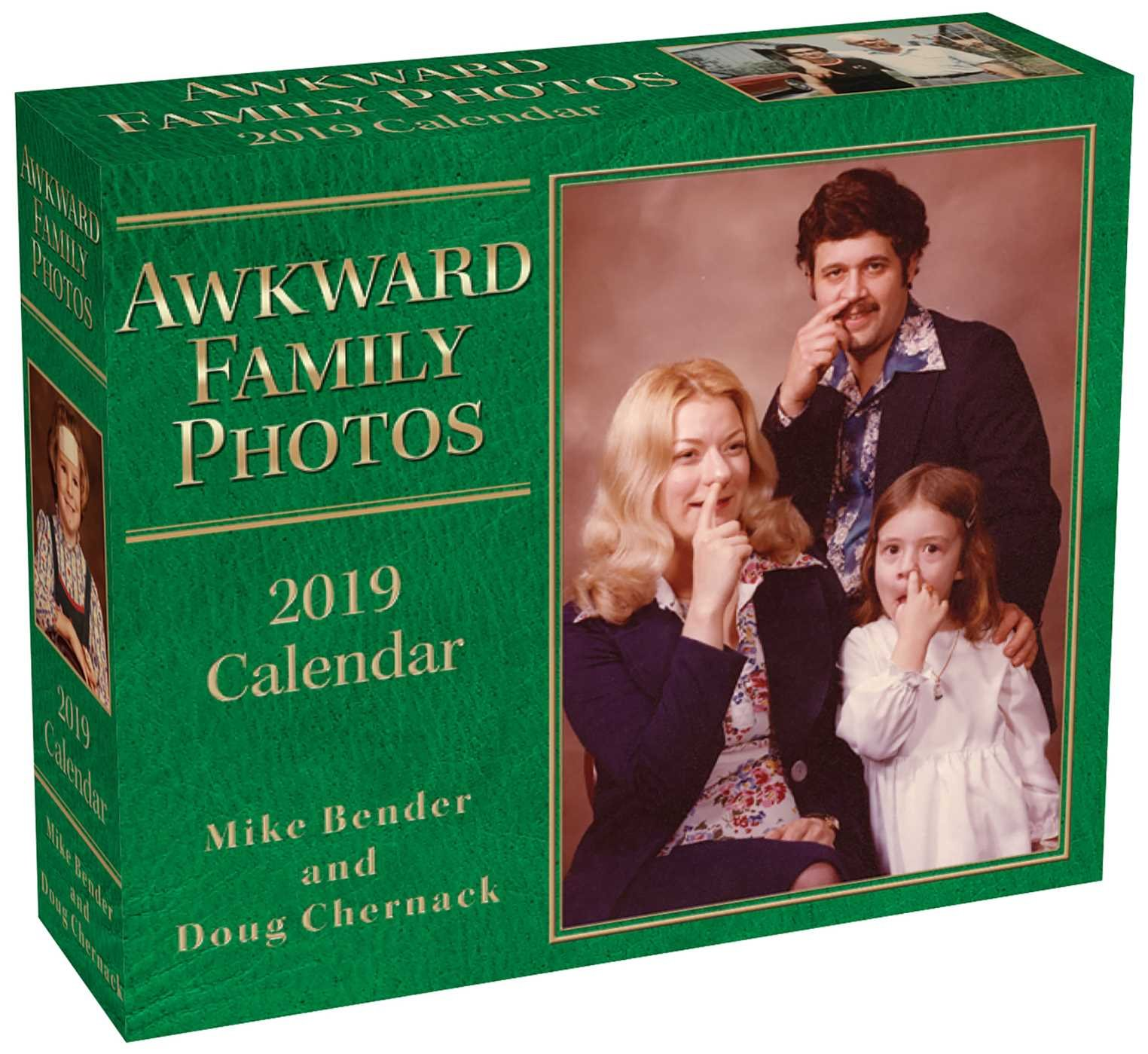 Awkward Family Photos 2019 Day-to-Day Calendar Calendar – Day to Day Calendar, Desk Calendar Mike Bender Doug Chernack Andrews McMeel Publishing 1449492088