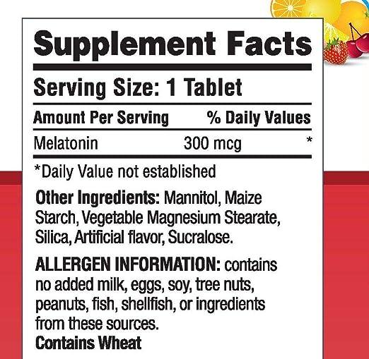 Amazon.com: Landau Melty Melatonin 300 mcg 100 Tablets: Health & Personal Care