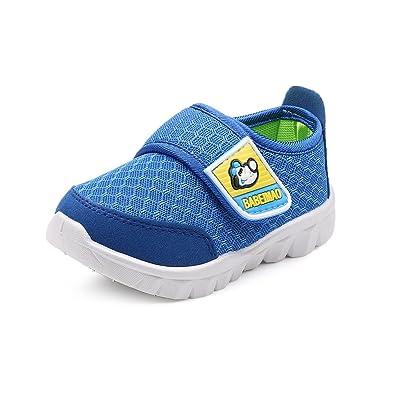 new style 70c56 96530 DADAWEN Mesh Running Sneakers Chaussure pour bébé garçon Fille -Bleu(C) 19