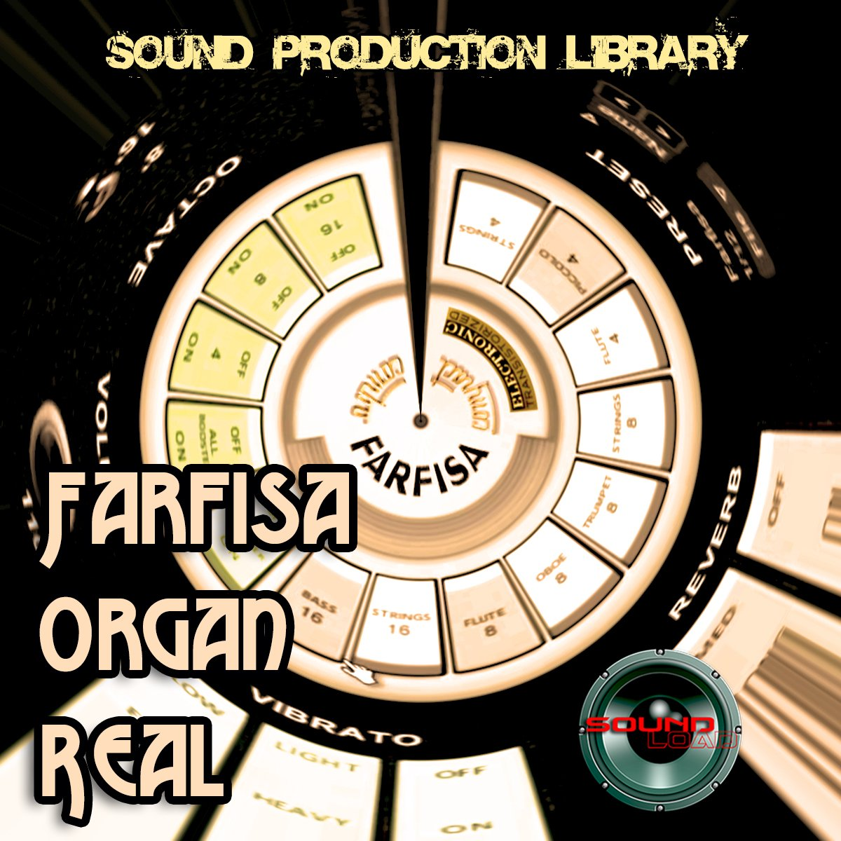 FARFISA ORGAN - THE very Best - Large unique original 24bit WAVE/Kontakt Multi-Layer Samples Library. FREE USA Continental Shipping on DVD or download; by SoundLoad