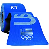 KT TAPE PRO Kinesiology Sports Tape, 20 Precut 10in Strips, 100% Synthetic, Water Resistant, Breathable, Videos, Team USA Olympic Edition