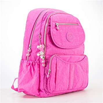3fe30a5632b4 Beautymade School Backpack Teenage Girl Feminina Women Backpacks Female  Nylon Big Travel Backpack Laptop Color 10