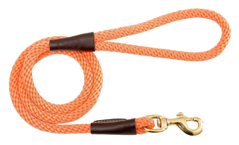 orange 1 2  x 6'Mendota Pet Snap Leash, 1 2  x 6', Camo