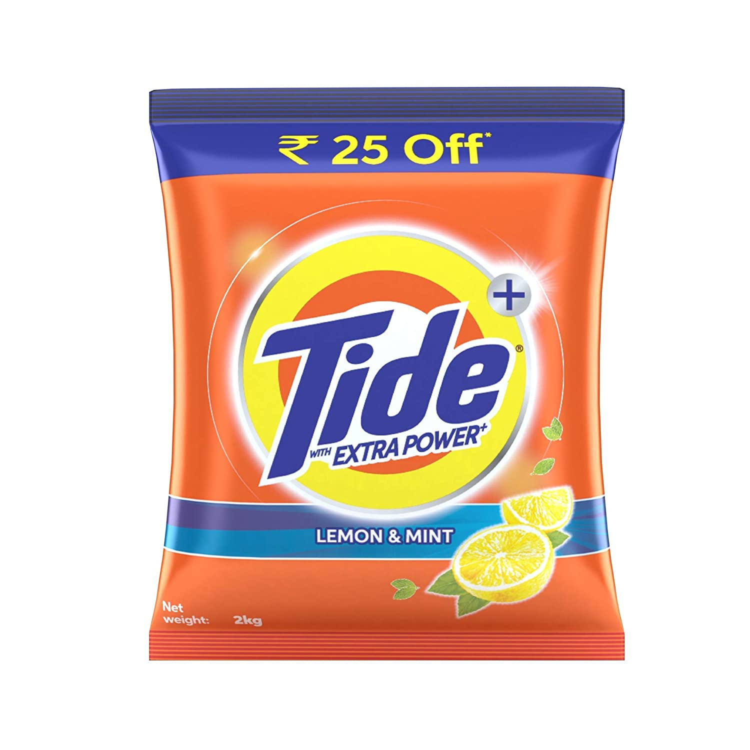 Tide Plus Extra Power Detergent Powder, 2kg