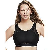 Glamorise Women's Plus Size No-Sweat Mesh Sports Bra Wirefree #1068