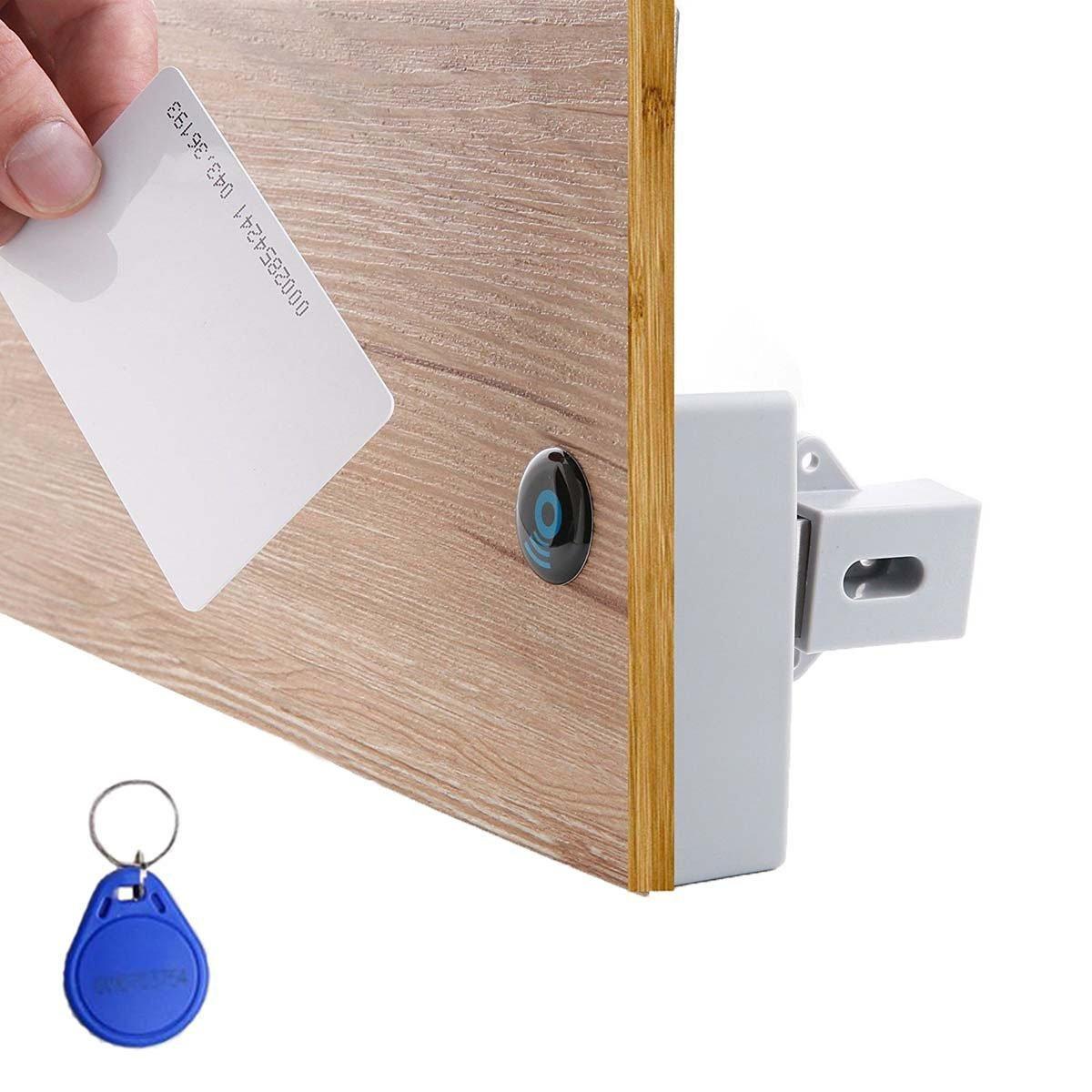 Diconna RFID Electronic Cabinet Lock Hidden DIY Lock Kit Set for Drawer Locker