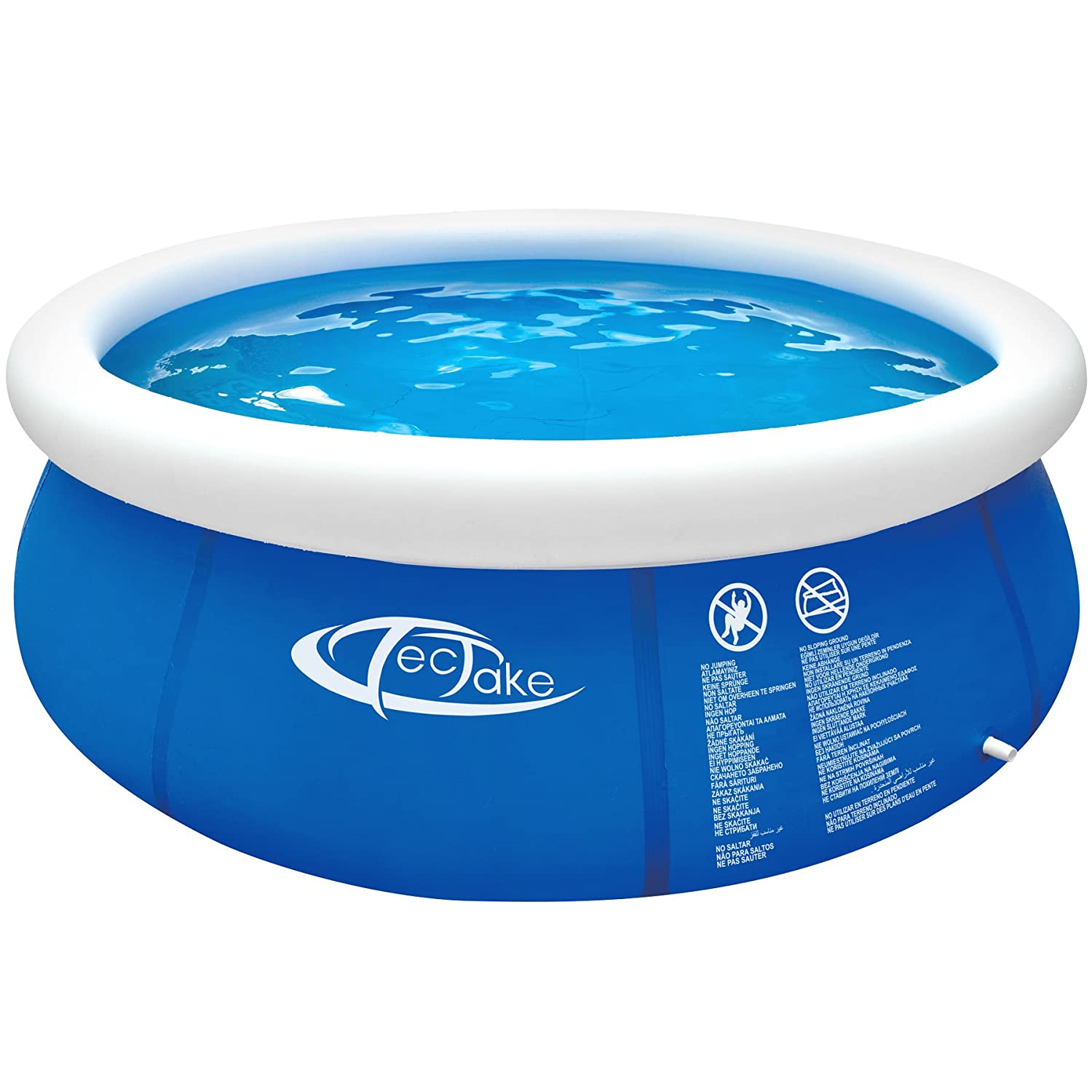 TecTake 800580 - Swimming Pool, Easy to assemble and disassemble, Robust and strong Foil - different Models (Typ 1 | No. 402894)