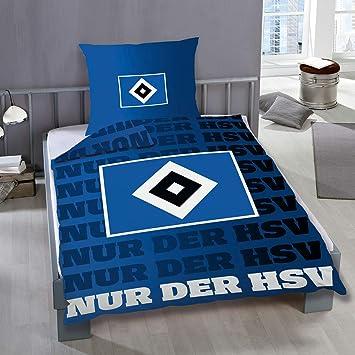 Hamburger Sv Hsv Bettwäsche Glow 29639 Amazonde Sport