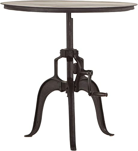 World Interiors Furniture Artezia Adjustable Metal Side Table - a good cheap living room table