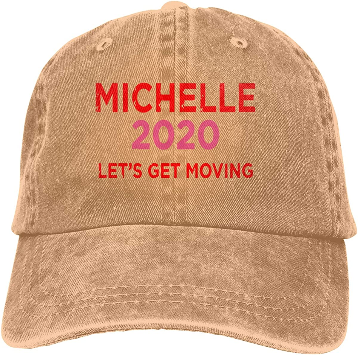 Really Want Michelle Obama to Unisex Adult Denim Hats Cowboy Hat Dad Hat Driver Cap GAOFEIhat Michelle 2020 People Really