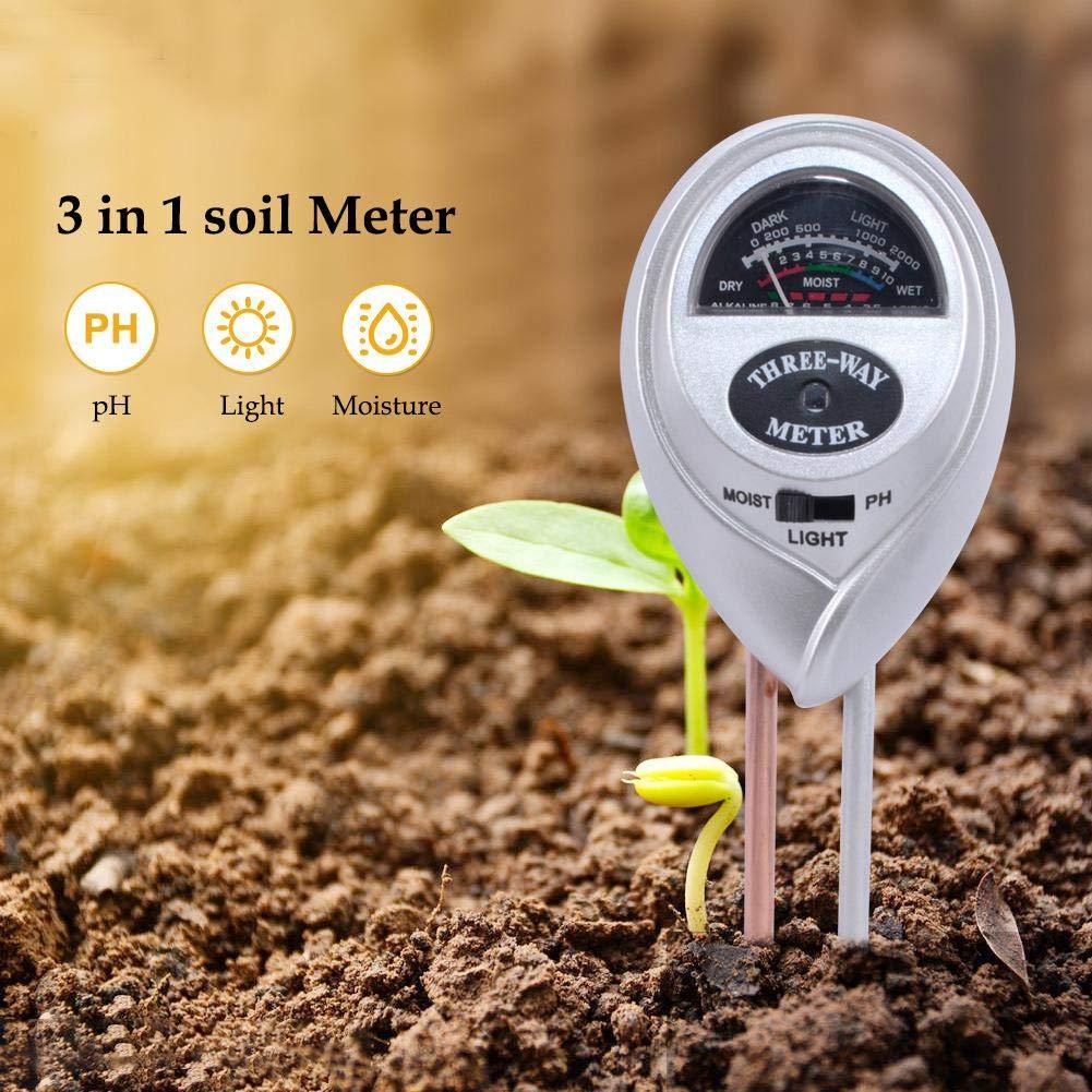 Jardinage Outil de Test de Sol pour testeur de Valeur de pH pour