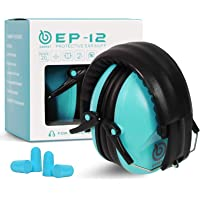 EAREST Protection Ear Muffs, Noise Reduction Safety Ear Muffs Shooting Earmuff with A Useful Carring Bag + Belt, NRR…