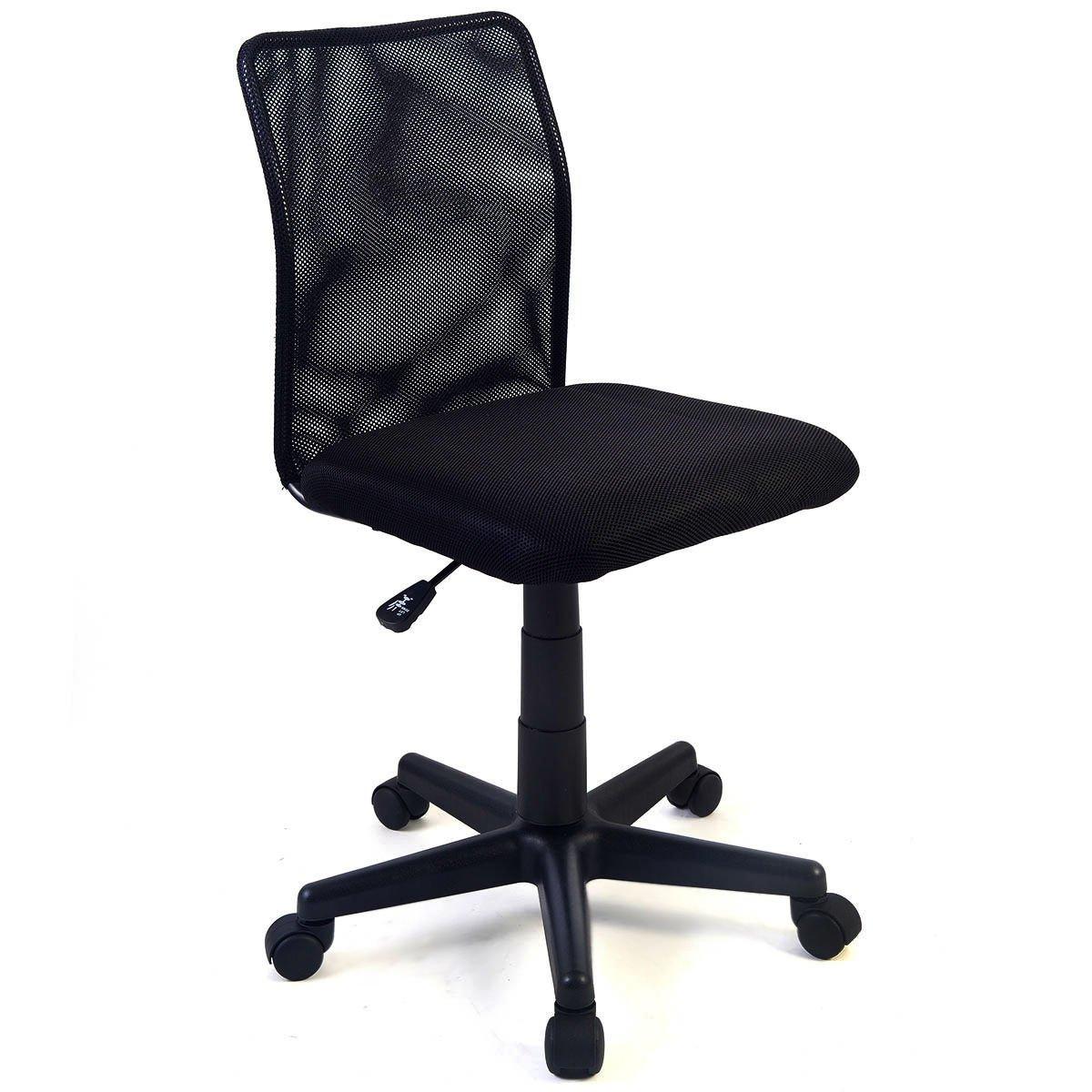 Super buy New Mid-back Adjustable Ergonomic Mesh Swivel Computer Office Desk Task Chair