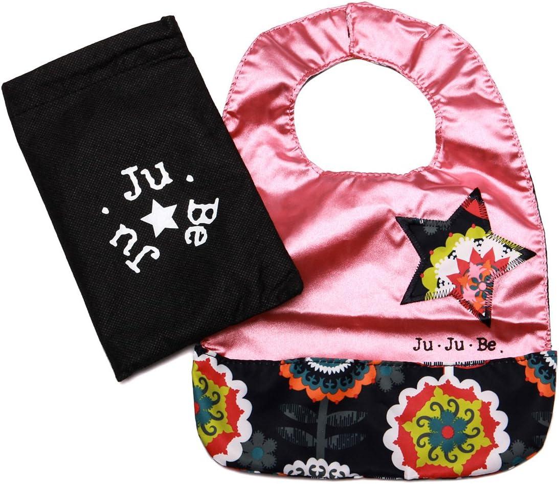 Dancing Dahlias Ju-Ju-Be Be Neat Reversible Bib