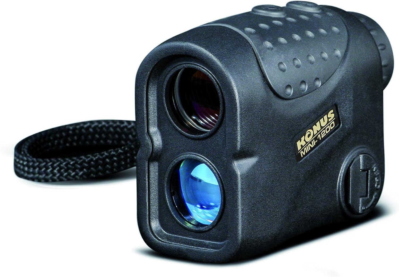 Konus mini-1200telémetro láser, Negro