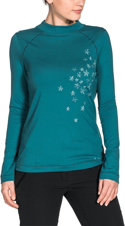 VAUDE Womens Skomer LS T-Shirt Donna