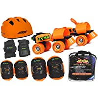 Jaspo Speed Lovers Pro Senior Skates Combo (Skates+Helmet+Knee+Elbow+Wrist+Bag) Suitable for Age 6 to 14 Years