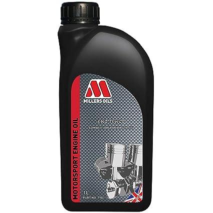 Millers Oils CRO 10W40 - Aceite Mineral para competición (1 L ...