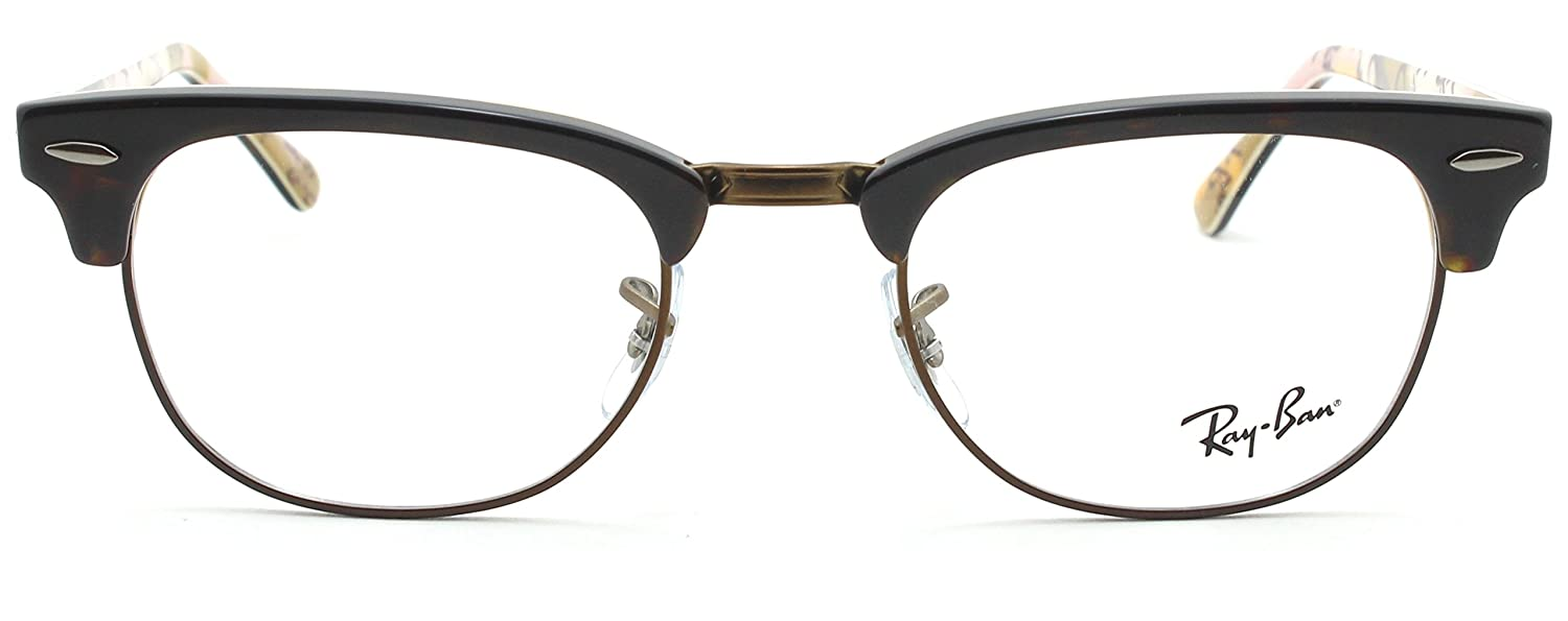 8292259315 Amazon.com  Ray-Ban RX5154 Clubmaster Optics Prescription Glasses 5650 -  51  Clothing