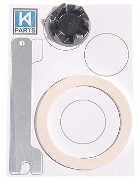 Acoplador para batidora KitchenAid 9704230 + llave + junta ue: Amazon.es: Hogar