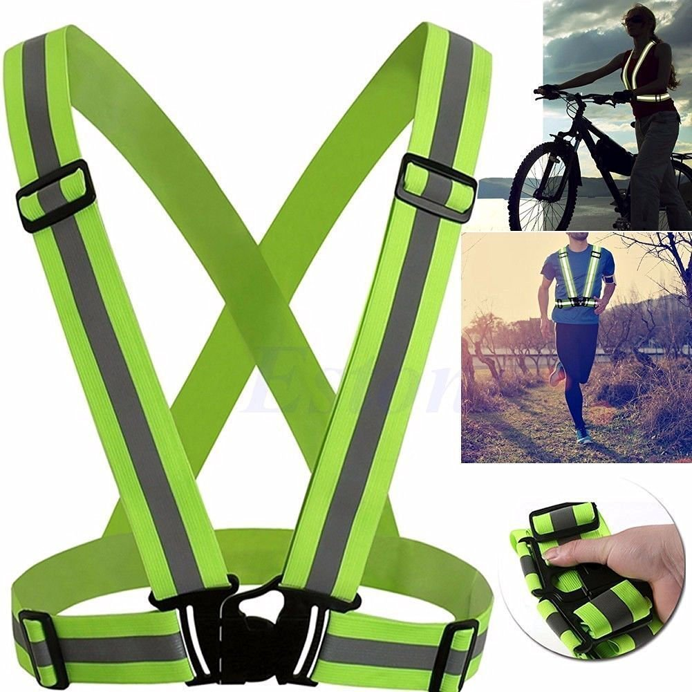 TXIN Adjustable Safety Security High Visibility Reflective Vest