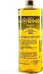 Moringa Oleifera Seeds Oil Cold Pressed 100% Virgin Pure Organic -