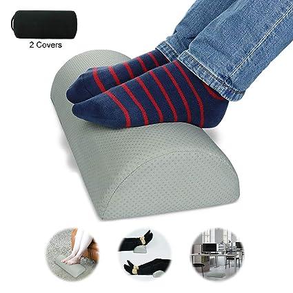 SEG Direct Cojín de espuma para pies - Incluye dos fundas ...