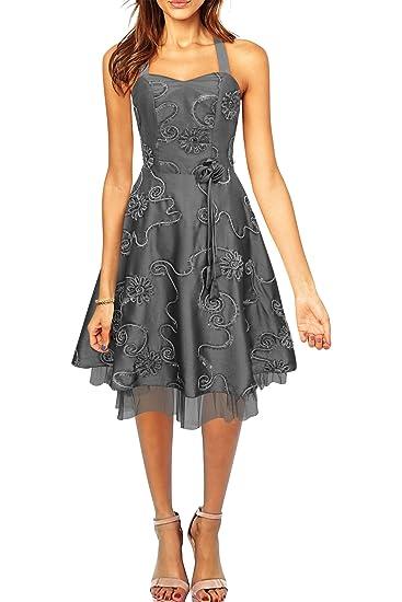 BlackButterfly Rita Floral Cherish Prom Dress (Silver, ...