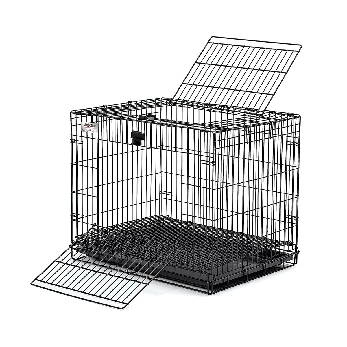 Amazon.com : Midwest Wabbitat Folding Rabbit Cage : Collapsible ...