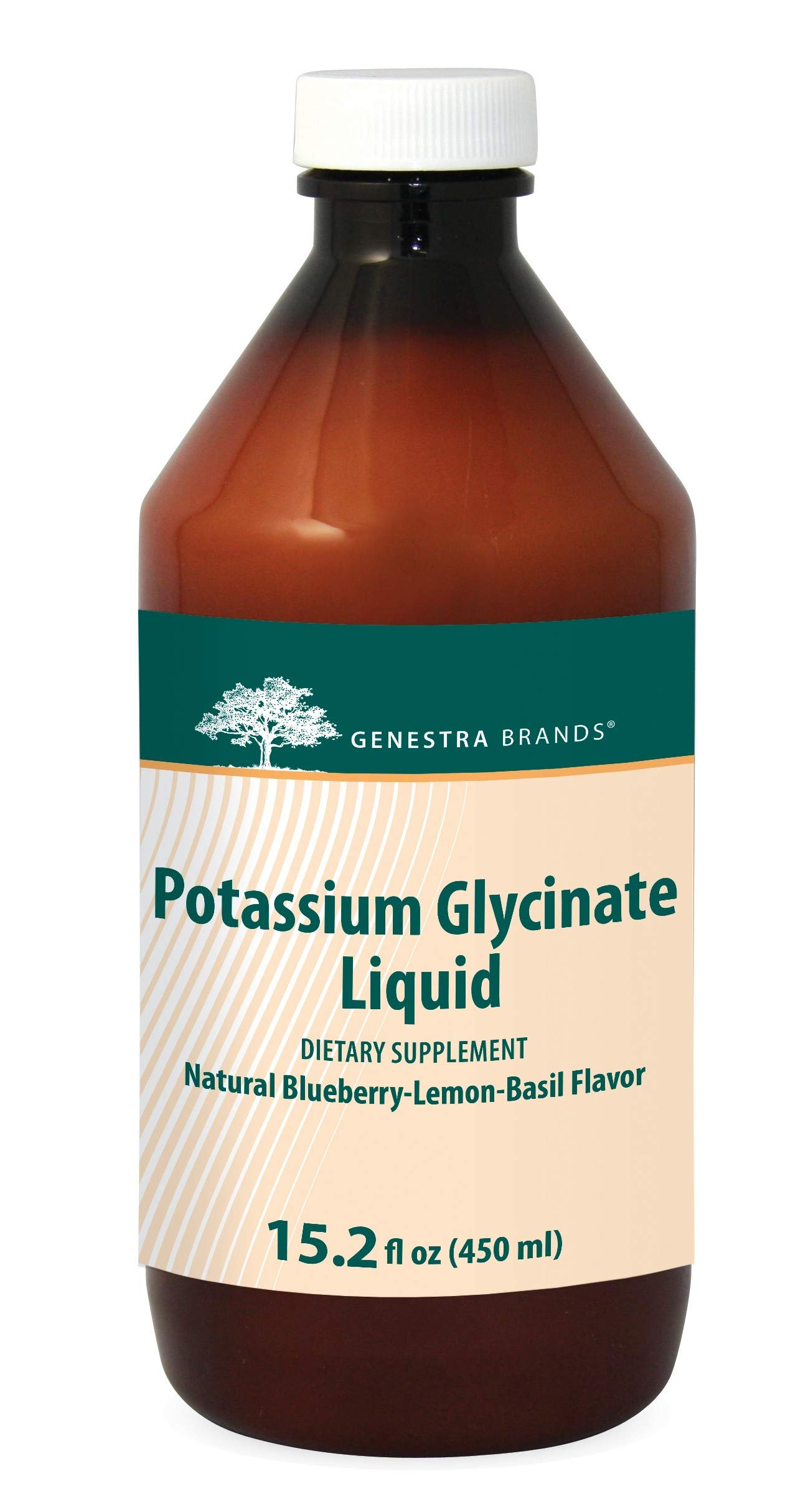 Genestra Brands - Potassium Glycinate Liquid - an Electrolyte for The Maintenance of The Good Health* - 15.2 fl (450 ml)